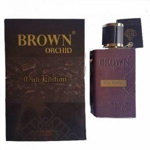 Fragrance World Brown Orchid Oud Edition Unisex EDP - 80ml discountshub
