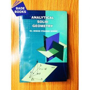 Jumia Books Analytic Solid Geometry discountshub
