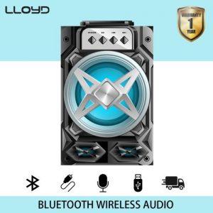 LLOYD LLoyd 988D Multifunctional Portable Bluetooth Speaker Silver discountshub