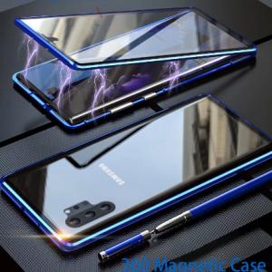 Magnetic Metal Case For Samsung Galaxy note10 S10 Lite A30S A50 A51 A70 A71 a 41 A10 A21S 5G a20e m31 M21 Phone Cases Cove Coque discountshub