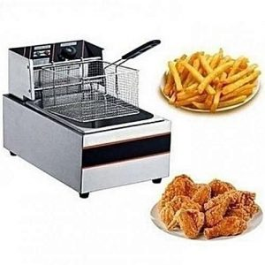 Nima Electric Stainless Steel 5L Industrial Deep Fryer discountshub