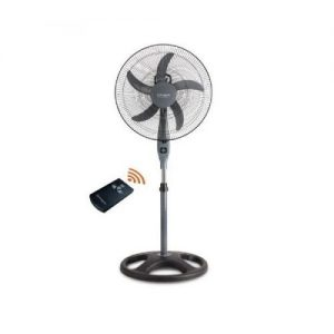 Qasa 18 Inches AC/DC Standing Fan + Remote (Non Rechargeable) discountshub