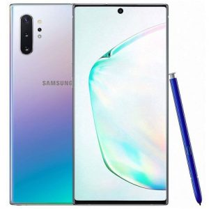 Samsung Galaxy Note 10 Plus (Note 10+) 6.8'' (12GB RAM, 256GB ROM),(12MP + 16MP) Dual SIM 4300 MAh Smart - Aura Glow discountshub