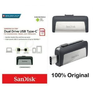 SanDisk 128gb Ultra Type-c Otg Flash Drive For Android Smartphones discountshub