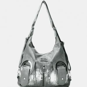 Women Tie Dye Multi-carry Waterproof Large Capacity Crossbody Bag Shoulder Bag Handbag Backpack discountshub