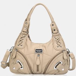 Women Waterproof Anti-theft Multi-pocket Crossbody Bag Shoulder Bag Handbag discountshub