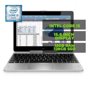 Hp EliteBook Revolve 810 G3 11.6 Touch Laptop Intel I5- 4GB RAM-128GB SSD Win10 Pro - Backlit Keyboard discountshub