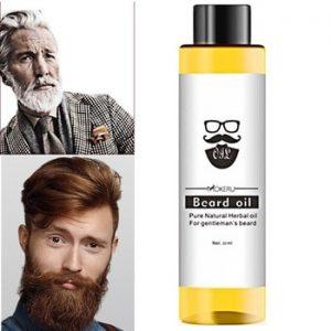 1 pc 30ml Mokeru 100% Organic Beard Oil Hair loss Products Spray Beard Growth Oil For Growth Men Beard Grow Pro discountshub