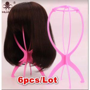 Wig Stand & Hanger - 6pcs - Pink discountshub