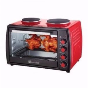 Saisho Electric Oven With Double Hot Plate- 50L discountshub