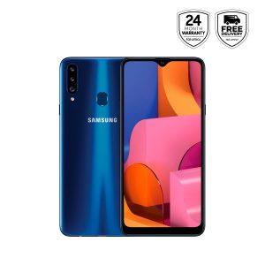 Samsung Galaxy A20s - Blue- 3gb+32gb, 4000mah, Rear 13mp-front 8 Mp, 4g Lte discountshub
