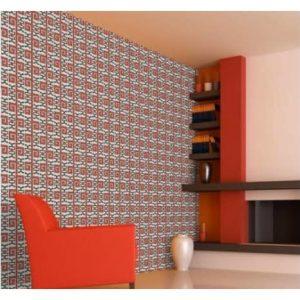 Luxury Monochrome Design Wallpaper - Black/red discountshub