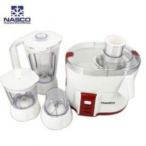 Nasco Juicer, Blender & Food Processor - 600W - 1.5L JE6010-GS discountshub