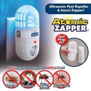 2-in-1 Ultrasonic Pest Repeller, Rodents & Bug Zapper discountshub