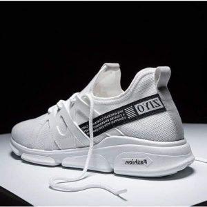 Breathable Sneakers - White discountshub