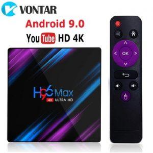 2020 H96 MAX RK3318 Smart TV Box Android 9 9.0 4GB 32GB 64GB 4K Youtube Media player H96MAX TVBOX Android TV Set top box 2GB16GB discountshub