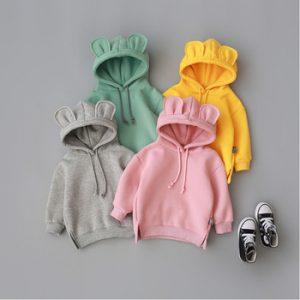 2020 New Spring Autumn Baby Boys Girls Clothes Cotton Hooded Sweatshirt Children's Kids Casual Sportswear Infant Clothing discountshub