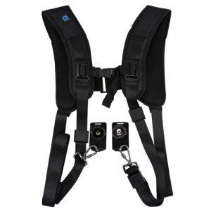 Quick Release Double Harness Soft Pad - Shoulder Strap Belt For DSLR Digital Cameras discountshub