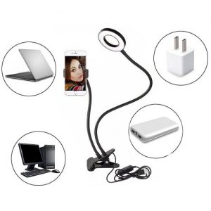 Selfie Ring Light With Phone Holder Stand discountshub