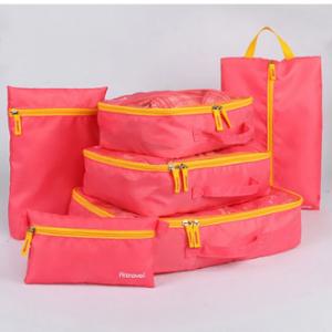 6Pcs New Travel Storage Set Suit Multi-function Storage Bag Shoes Clothing Sorting Bag discountshub