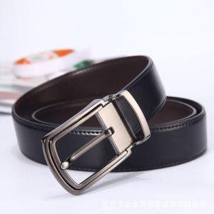 Men's Double-Sided Real Belt discountshub