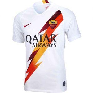 AS ROMA Away Jersey - White discountshub