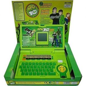 Ben 10 Children English Learner Educational Laptop With Activities For Learn And Play With Mouse Control & LCD discountshub