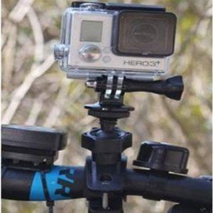 Bicycle Motorcycle Handlebar Mount Holder for GoPro Hero SJ4000 SJ5000 and SJ6000 Sport Cameras discountshub