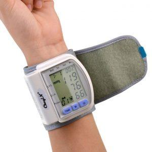 Blood Pressure Monitor Wrist Sphygmomanometer Pulse Meter discountshub
