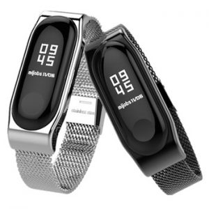 Bracelet Mi Band 2 Strap Metal Screwless Stainless Steel Bracelet Wristbands miband 2 Replace Accessories For Xiaomi Mi Band 2 discountshub