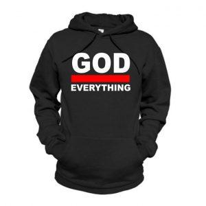 Danami God Over Everything Hoodie- Black discountshub