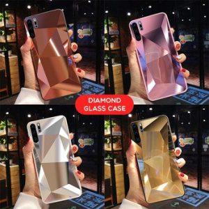Diamond 3D Mirror Case For Samsung Galaxy A71 A51 A70 A50 A30 A20 A9 A7 A6 2018 S20 Ultra S10E S9 S8 Plus Note 10 Glitter Cover discountshub