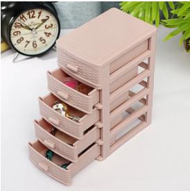 Drawer Mini Desktop Storage Box Multi-layer Cosmetics Finishing Box Office Stationery Storage Box discountshub