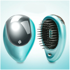 Electric Hair Ionic Comb Portable Massage Hair Comb Anti-Static Hair Straightener Beauty Hair Brush discountshub