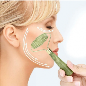 Facial Massage Roller Jade Anti Wrinkles Beauty Tools Face Skin Slimming Relaxation Health Care discountshub