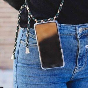 Fashion Cross Shoulder Strap Clear TPU Case For iPhone 11 Pro Max 11 Pro 11 XS Max XR XS X 7 8 6 6S Plus 5S SE Necklace Cover discountshub