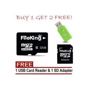 FileKing 32GB Micro SD Memory Card discountshub
