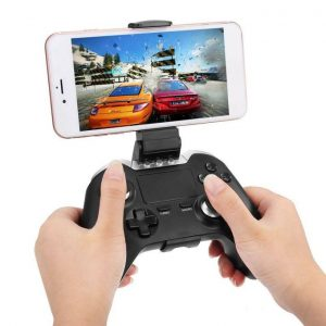 Ipega Ipega 9069 Wireless Bluetooth Gamepad With Touch Pad For Phone TV For Android/iOS/PC/TV Box-Black JY-M discountshub
