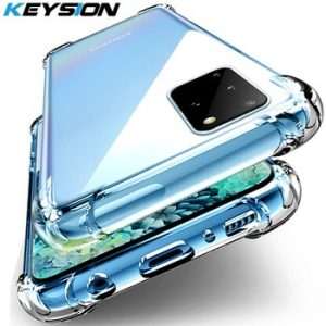 KEYSION Shockproof Case for Samsung A51 A71 A81 A91 A21 A01 A70 A50 M30S Phone Cover for Galaxy S20 ultra S10 Plus Note 10 Lite discountshub