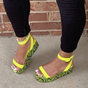 Karinluna Plus size 43 Casual INS HOT 2020 New flat Platform fashion sandals women summer casual shoes female discountshub