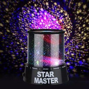 LED Star Projector Baby Night Light Nursery Children Room Lighting Lamp discountshub
