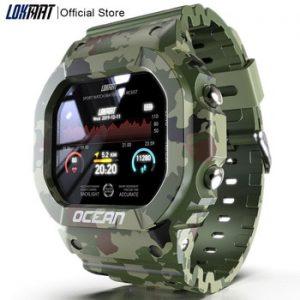 LOKMAT Ocean Smart Watch Men Fitness Tracker Blood Pressure Message Push Heart Rate Monitor Clock Smartwatch Women For Android discountshub
