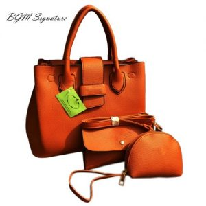 Ladies Office Handbag-Brown discountshub