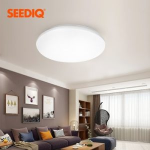 Led Ceiling Lamp 220v 110v Surface Mounted Led Ceiling Light Dimmable With Remote Control Light Fixtures for Living Room Kitchen discountshub