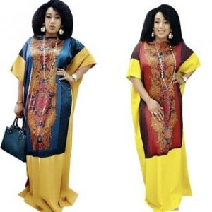 Long Maxi Dress 2020 African Dresses For Women Dashiki Summer Plus Size Dress Ladies Traditional African Clothing Fairy Dreess discountshub