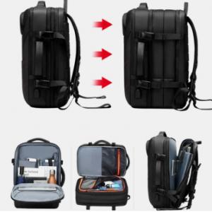Men 15.6 Inch USB Charging Waterproof Business Laptop Bag Backpack discountshub