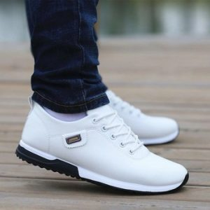Men Shoes Business Casual Shoes for Male PU Leather Shoes 2019 Sneakers Men Fashion Loafers Walking Footwear Zapatos De Hombre discountshub