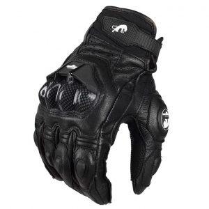 Men's Leather Riding Gloves Motorcycle Gloves Moto Racing Gl discountshub