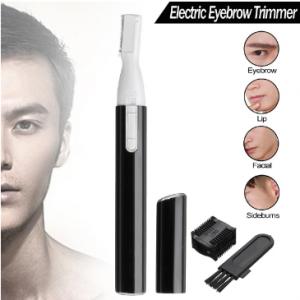 Mini Electric Eyebrow Trimmer Portable Eyebrow Ear Arm Leg Hair Body Epilator Unisex Hair Trimmer discountshub