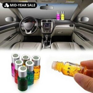 New Car Perfume Replenisher Plant Essential Oil Natural Air Freshener Car Outlet Perfume Replenishment Fragrance 10ml discountshub